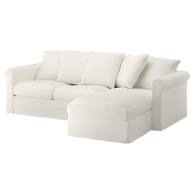 Big gro enlid sofa